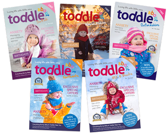 Toddle About Magazine for babies and toddlers