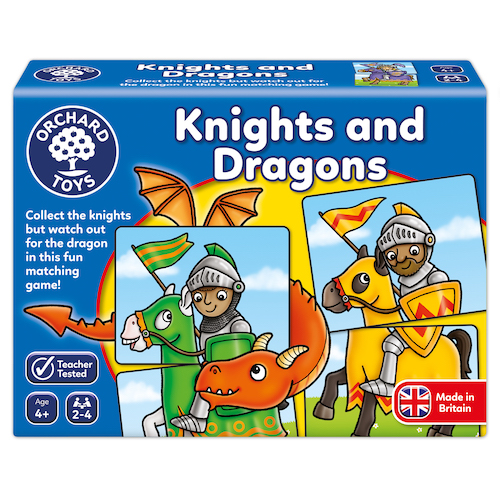 ORCHARD TOYS: KNIGHTS AND DRAGONS, worth £8.00