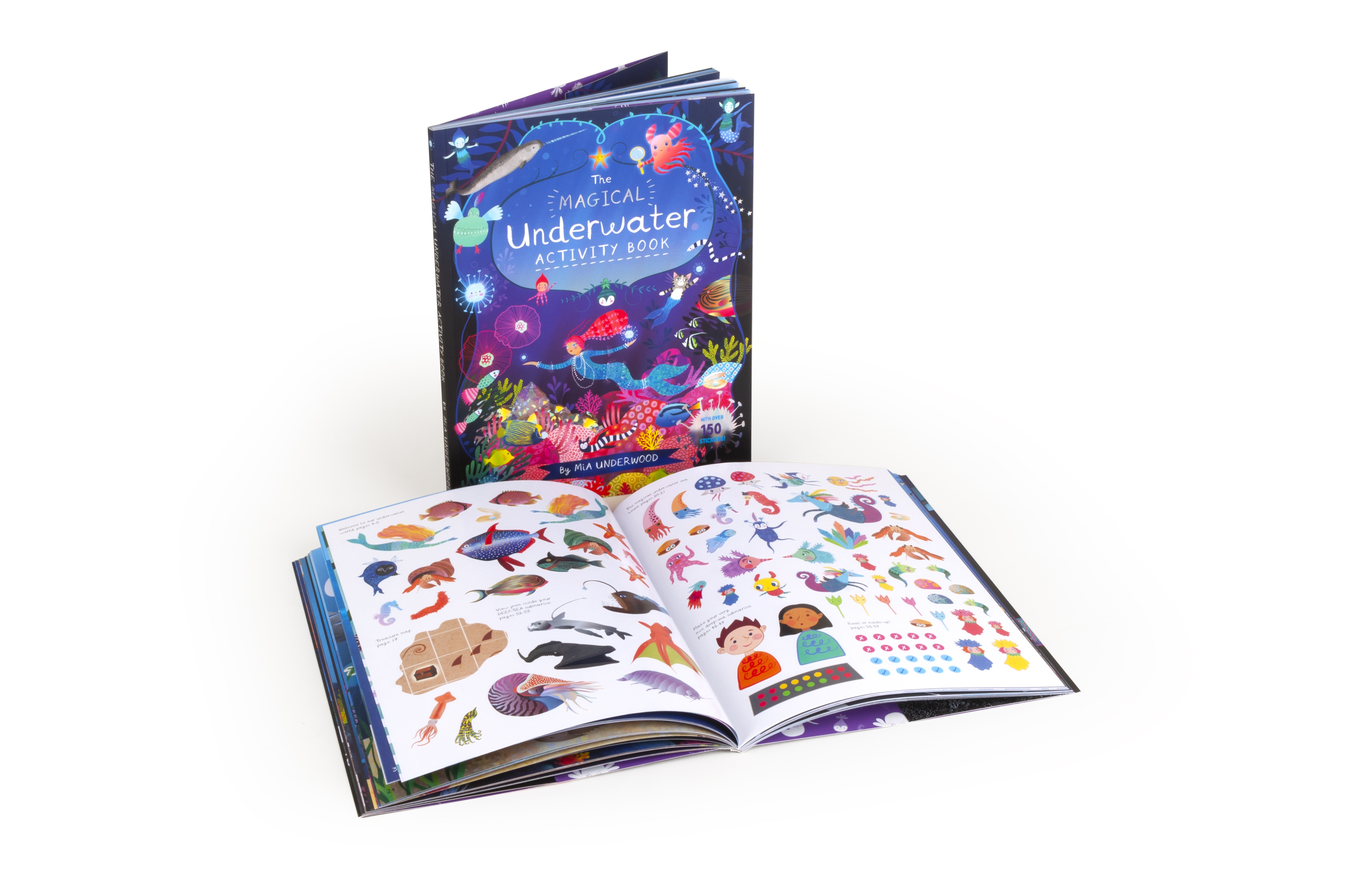 The Magical Underwater Activity Book, worth £9.99  image