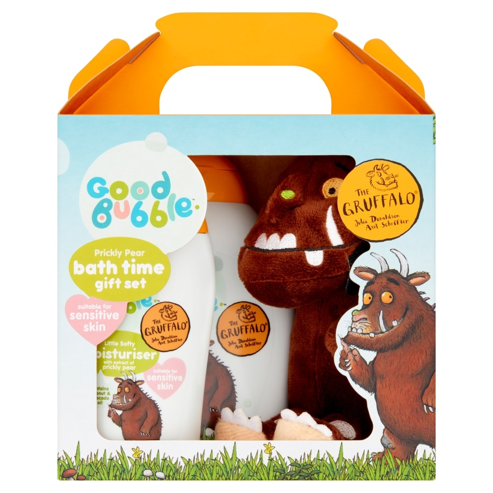 Good Bubble Gruffalo Prickly Pear Bath Time Gift Set, worth £10.00
