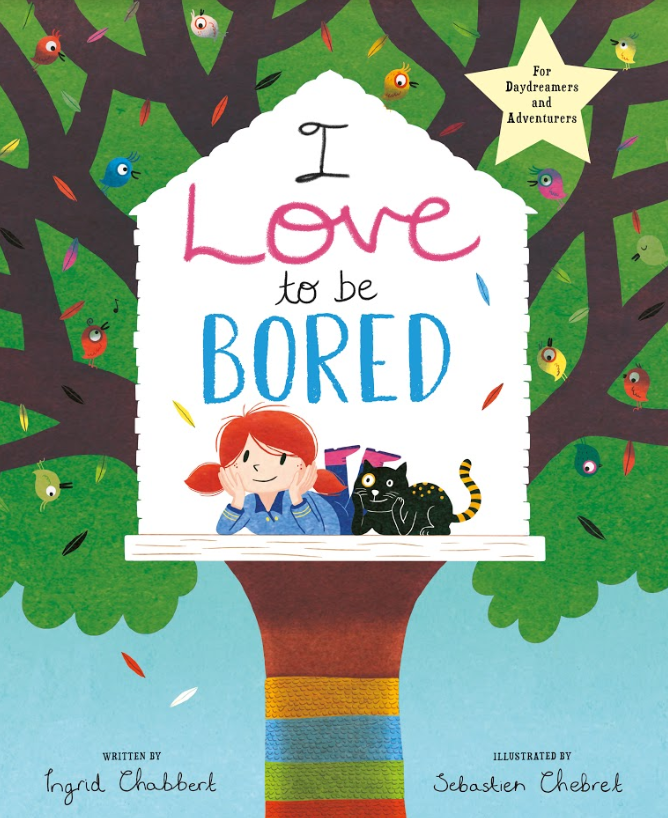 A children's picture book promoting the joys of boredom comes to the rescue as parents search for new ways to keep their children entertained during lockdown  image