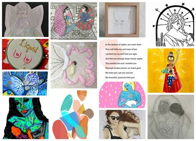 Breastfeeding in Art – Medela Mums get Creative for World Breastfeeding Week  image