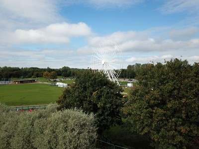 Willen Lake welcomes new visitor attraction, the Willen Observation Wheel!   image