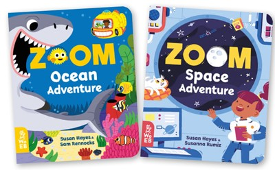 Review: What on Earth Books: ZOOM Ocean Adventure and ZOOM Space Adventure, worth £10.99 each  image