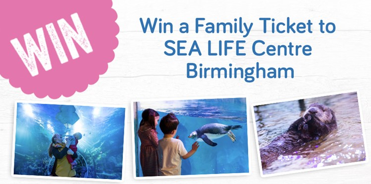 Win a family ticket to Sea Life Centre