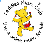 Teddies Music Club Colouring in