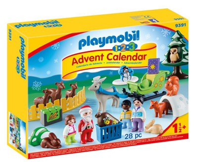 Review: Playmobiil 1.2.3 Advent Calendar - Christmas in the Forest, worth £24.99  image