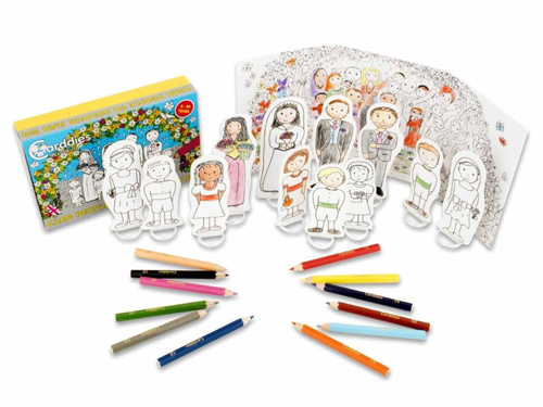 Carddies Wedding Card People Colour and Play Set, worth £8.99