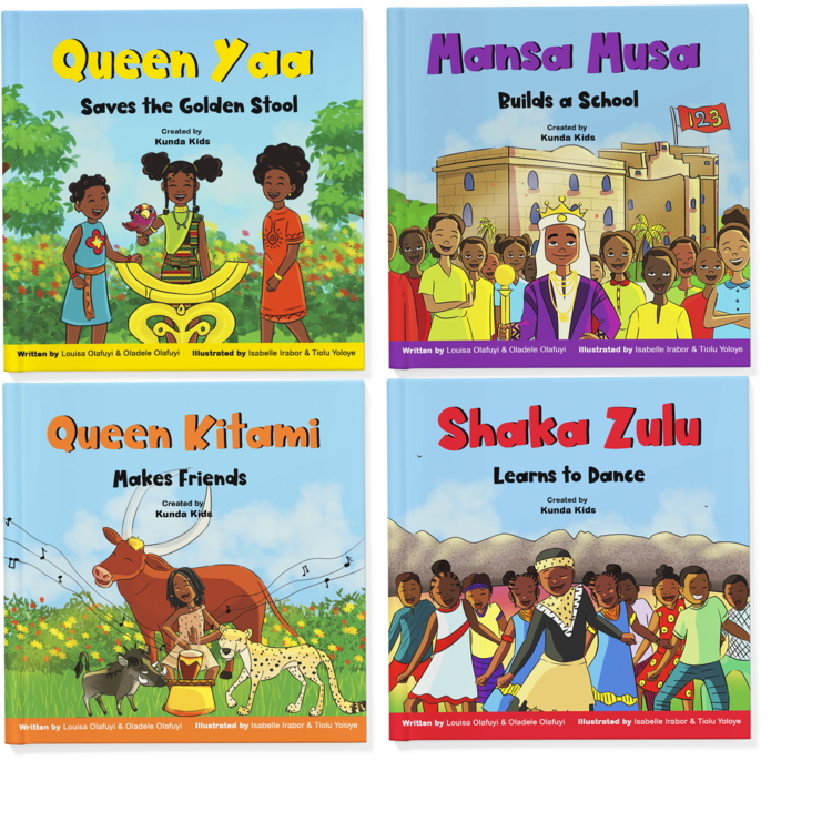 Kunda Kids, a black-owned publishing company dedicated to educating children about African history and culture, launches their latest collection  image