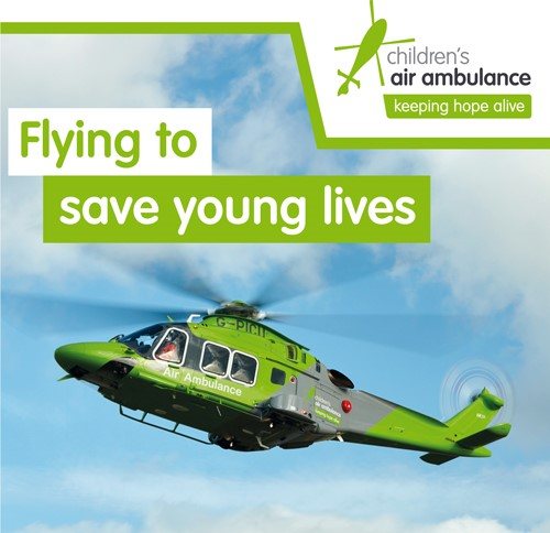 Life Saving Helicopters Go Green in Oxford  image