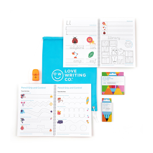 The Love Writing Co. Complete Learning to Write Pack, worth £27.99 each