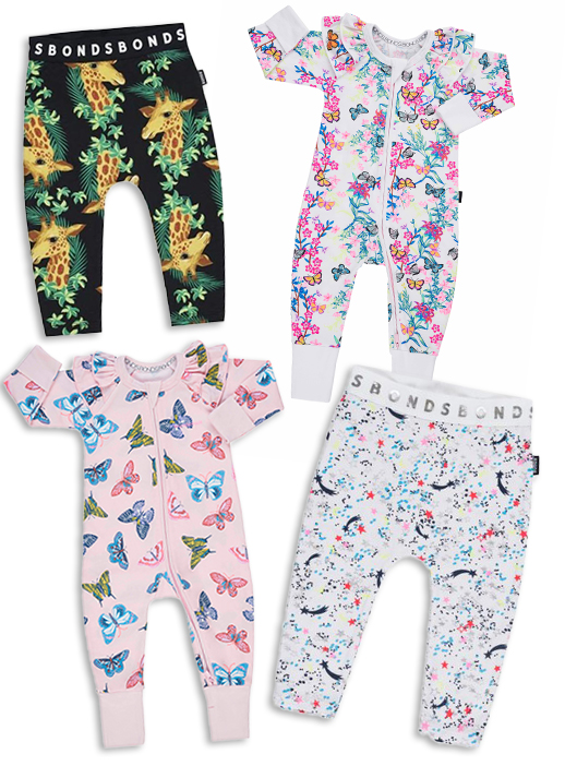 A BONDS Wondersuit (6-12 mth) and BONDS Leggings (6-12 mth), worth £32 (2 of each to giveaway)