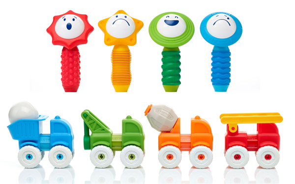 SmartMax My First Sounds and Senses and My First Vehicles, worth £17.99 each