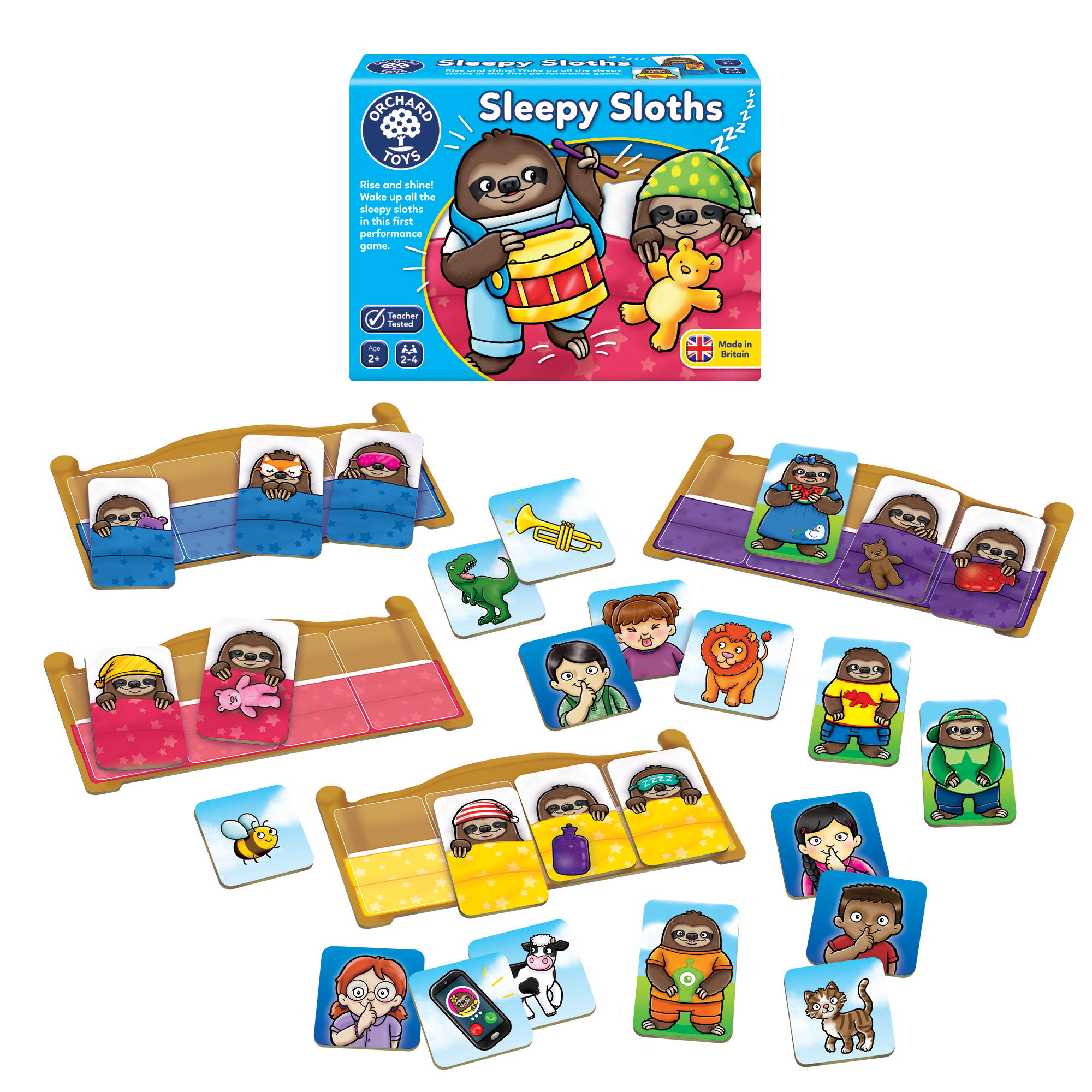Orchard Toys: Sleepy Sloths Game, worth £8.30