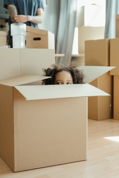 Top tips for moving house with small children  image