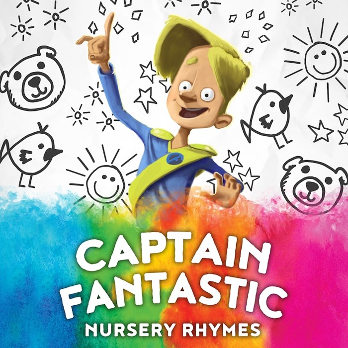 Captain Fantastic releases new album: Captain Fantastic - Nursery Rhymes  image