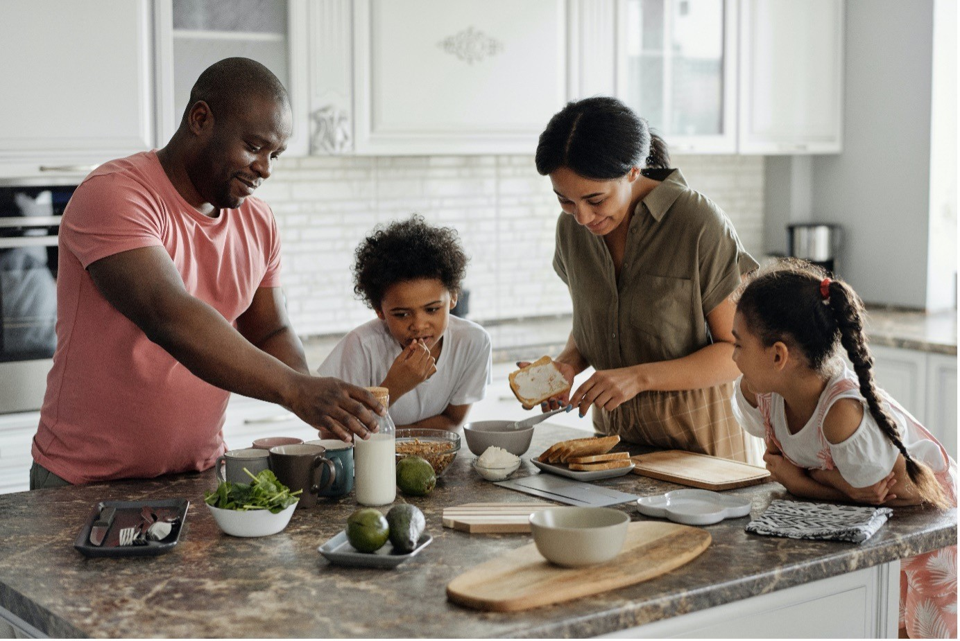 Kitchen habits that impact children's health