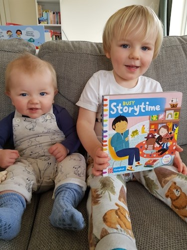 Book Review: Busy Storytime by Campbell Books, worth £5.99  image
