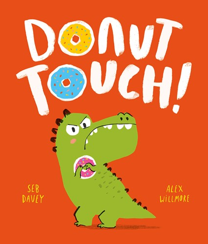 Book Review: Donut Touch! by Seb Davey, worth £6.99  image