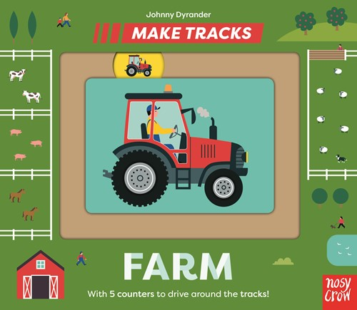 Book Review: Make Tracks: Farm, by Johnny Dryander, worth £9.99  image