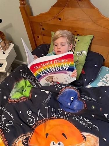 Book Review: The World Made a Rainbow, by Michelle Robinson, worth £6.99  image