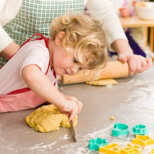 Fussy easters are often more inclined to eat food if they have played a part in making it