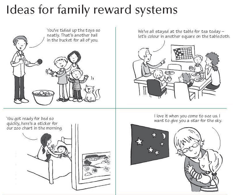 Alternative reward systems - instead of using food