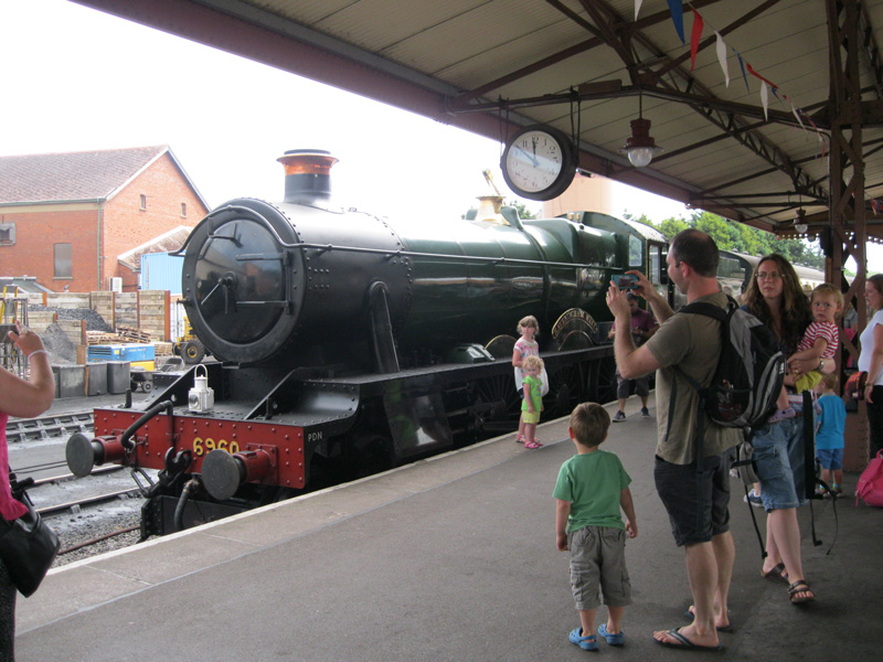 The steam train journey to the beach at Minehead with the West Somerset Railway is a must for any fan of Thomas the Tank Engine :-)