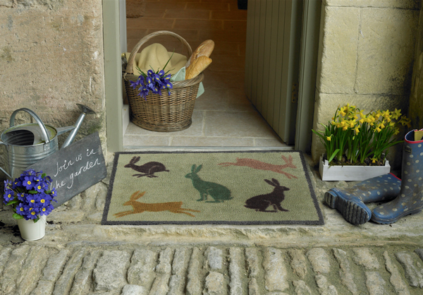 The 'Hares' Turtle Mat