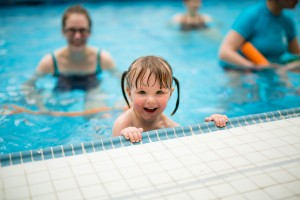 Toddler Swimming - copyright Puddle Ducks