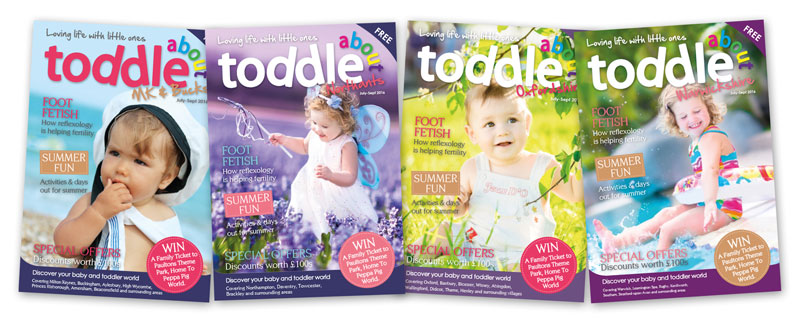 Toddle About Magazine Subscription