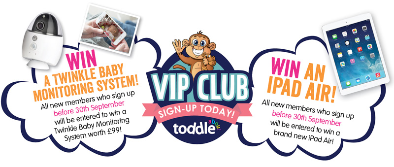 Win an iPad Air and a Twinkle Baby Monitoring System