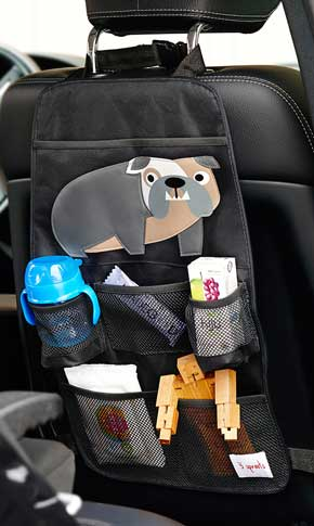 3 Sprout Bulldog Back Seat Organiser