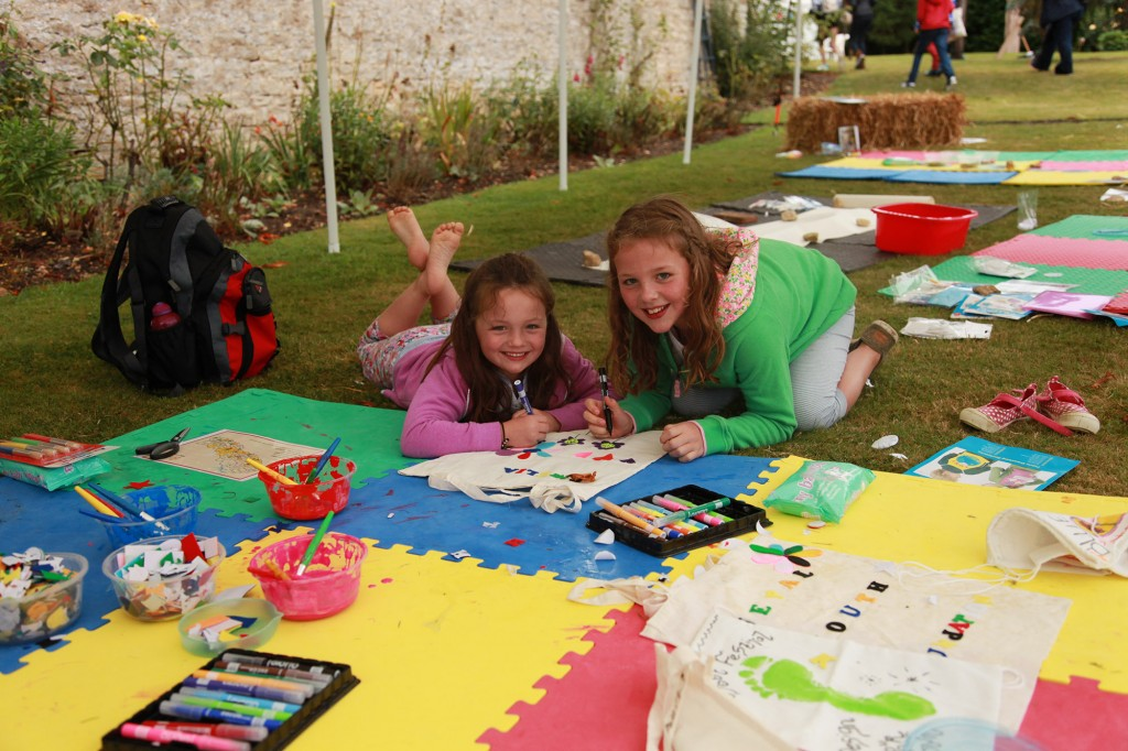 activities for children at Little Foot Festival
