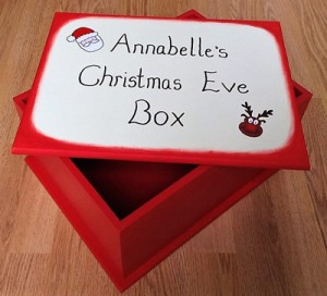 Christmas Eve Box from Ellie Mai Toy Boxes