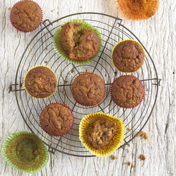 Carrot Apple & Sultana Muffins