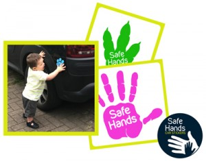 Safe Hand Car Stickers