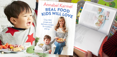 Review: Real Food Kids Will Love Book by Annabel Karmel, worth £16.99  image