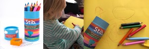 Stib Inspirational Colouring Pencils