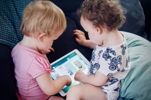 49% of parents under 35 let their children use a tablet before they're 4 years old.