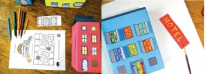 Rainbow Town Craft for Children  image