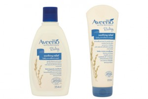 AVEENO Baby Soothing Relief Cream and Wash