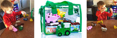 Tractor Ted Wooden Farm Toys in Bag