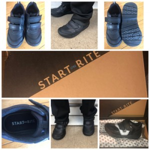 Review: Start-Rite Boys Black Leather Riptape School Shoes, worth £49.99  image